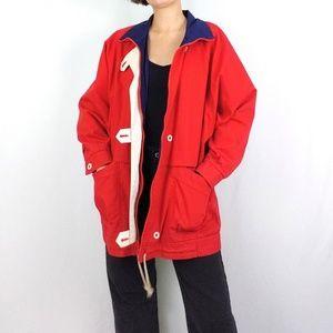 Vintage nautical canvas jacket